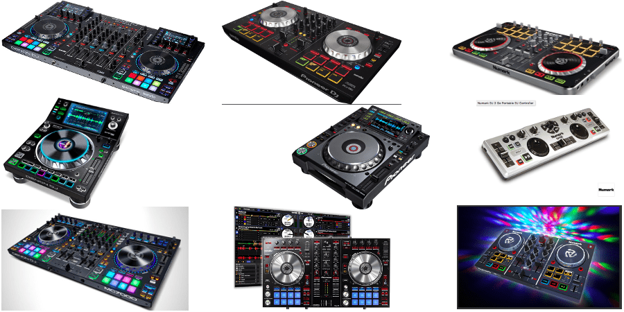 dj controller setup on Rekordbox, Serato, Virtual DJ